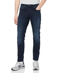 G-Star RAW 3301-straight Straight Tapered Jeans - Blue