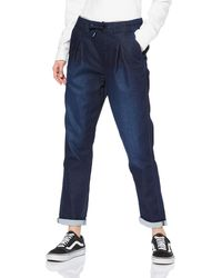 Pepe Jeans Donna Jeans Straight - Blu