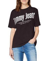 Tommy Hilfiger - Tjw Diagonal Logo Tee T-shirt - Lyst
