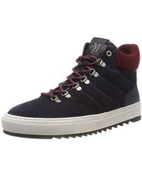 6897ae56b16927 Marc O'polo Sneaker 70723743502103 High-top Trainers in Black for ...