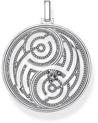 Thomas Sabo Silver Pendant Pe865-637-21 - Metallic