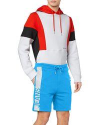 Calvin Klein Stripe Institutional HWK Short Shorts - Blu
