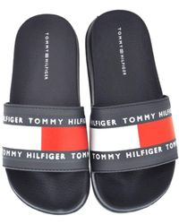 Tommy Hilfiger Mule T3b0-30758 Blue