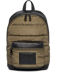 Replay Backpack Quilted Khaki Green