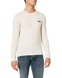 HIKARO Amazon Brand - Men's T-shirt, Multicolour Beige (oatmeal Marl), M, Label:m - Natural