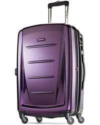 Samsonite Winfield 2 Fashion Hardside 20 Spinner - Purple