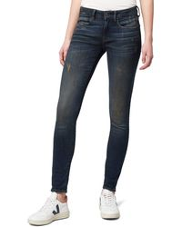G-Star RAW - 3301 Deconstructed Mid Waist Skinny Vaqueros - Lyst