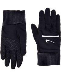 Nike S Sphere Running Gloves 042 Black/Silver Gants - Noir
