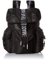 Steve Madden Logo Utility Backpack - Black