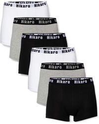 HIKARO Amazon-Marke: HIK0022AM Boxershorts - Noir