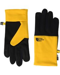 The North Face S Recycled Etip Glove Summit Gold L - Metallic