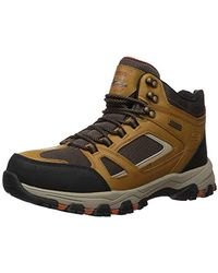 Skechers SELMEN-REGRAM LACE UP Boot Hiking - Multicolore