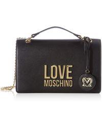 Love Moschino SS21, Sac à l'épaule , Noir, Normal
