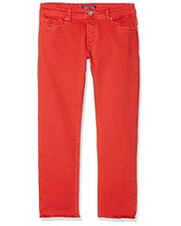 Tommy Hilfiger - Lana Straight Cropped Icpst Jeans Fille - Lyst