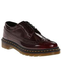 Dr. Martens - 3989 Brogue Wingtip Shoe - Lyst