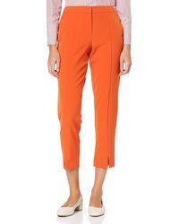 Dorothy Perkins Orange Split Front Trousers, Orange