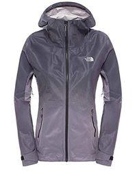 The North Face Outdoor Jacket Fuseform Dot Matrix Outdoor Jacket - Blue