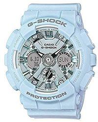 G-Shock Orologio Quarzo Donna con Cinturino in Plastica GMA-S120DP-2AER - Blu