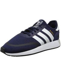 f4c0f669f3f adidas Iniki Runner Cls Low-top Sneakers in Gray for Men - Lyst