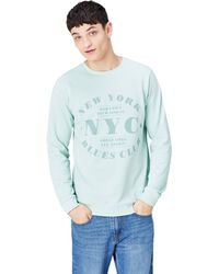 FIND Nyc Print Crew Neck - Green