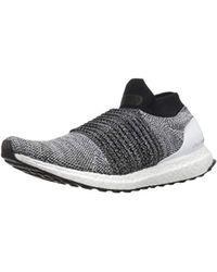 a2c63dc6957 Lyst - Adidas Ultraboost Laceless Running Shoe in White for Men