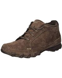 Skechers Bikers-lineage-moc-toe Lace-up Chukka Boot