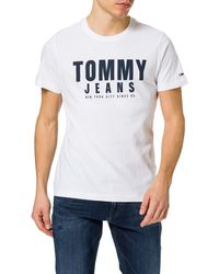 Tommy Hilfiger - Tjm Center Chest Tommy Graphic T-Shirt - Lyst