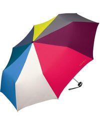 Esprit Easymatic 3 Collapsible Umbrella Multicolour Multicoloured Combination 97 Cm
