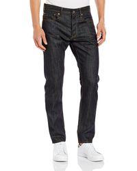 G-Star RAW 3301 Tapered Jeans - Blau