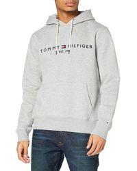 Tommy Hilfiger TOMMY LOGO HOODY Sweatshirt - Grau