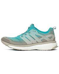 adidas Consortium x Packer x Solebox Men Energy Boost Sneaker Exchange (BlueEnergy BlueSesameGum)