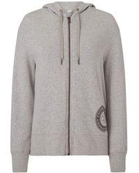 Calvin Klein Full Zip Hoodie Sweater - Gris