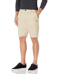 Oakley - Icon Chino/Golf-Shorts - Lyst