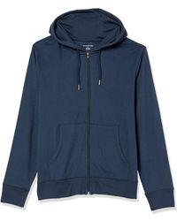 Amazon Essentials Lightweight Jersey Full-Zip Hoodie Fashion-Hoodies - Blu