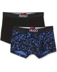 HUGO Trunk Brother Pack Boxer Shorts - Blue