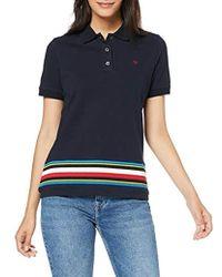 Stripe Polo Femme Ss Global Oiutpkzlwx Bleu Tali 8wkP0On