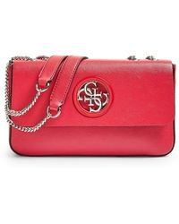 Guess HWVG7186210 CNY Red HANDBAG PRE Borsa Donna - Rouge