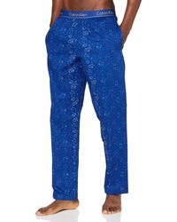 Calvin Klein Sleep Pant Pantaloni Pigiama - Blu