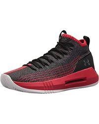 Under Armour UA Heat Seeker, Zapatos de Baloncesto para Hombre - Negro