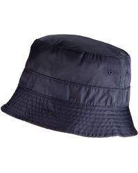 Superdry Nylon Reversible Bucket Hat - Black