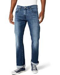 Levi's 527 Slim Boot Cut Jeans - Blu