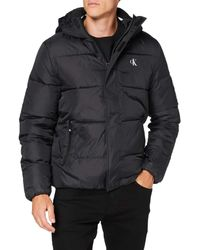 Calvin Klein Hooded Puffer Jacket - Multicolour