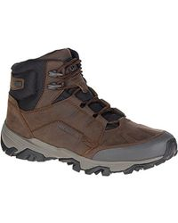 "Merrell - Coldpack Ice+ 8"" Zip Polar Wtp Snow Boot - Lyst"