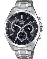 G-Shock - Orologio Cronografo Quarzo Uomo con Cinturino in Acciaio Inox EFV-580D-1AVUEF - Lyst