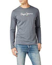 bcb345aefa7 Pepe Jeans - EGGO Long Pm501321 T-shirt - Lyst