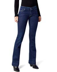 Replay Teena Flared Jeans - Blue