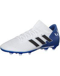 adidas Nemeziz Messi 18.3 FG - Bleu
