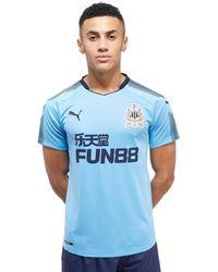 PUMA Newcastle United 2017/18 Away Shirt - Blue