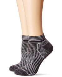 Columbia Marl And Space Dye Flat Knit Socks No Show 3-pack Black 9-11