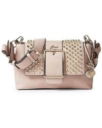 Guess Hwss70 95190 Across Body Bag Accessories Pink Pz. - Natural